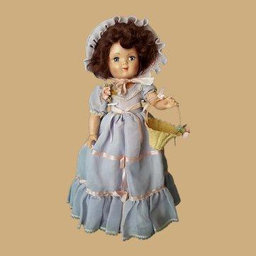 Rare All Original Vintage Eugenia Personality Pla-Mates Doll
