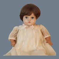 SALE! Vintage Signed Horsman Hard Plastic and Rubber Baby Doll