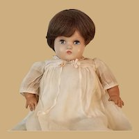 Vintage Signed Horsman Hard Plastic and Rubber Baby Doll