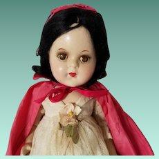 Rare Madame Alexander Snow White Composition Doll