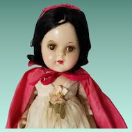 Rare Madame Alexander Snow White Composition Doll