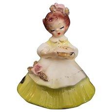 "Early Vintage Josef Original California Figurine - ""Saturday"""