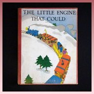 "Vintage Children's Book - ""The Little Engine That Could"""