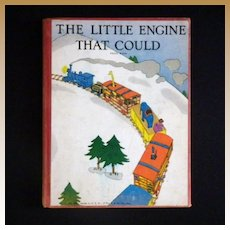 """Vintage Children's Book - """"The Little Engine That Could"""""""