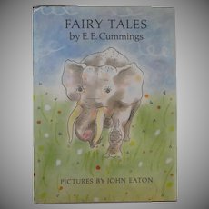 "Vintage Children's Book First Edition - ""Fairy Tales"" by E.E. Cummings"