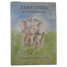 """Vintage Children's Book First Edition - """"Fairy Tales"""" by E.E. Cummings"""