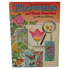 "RESERVED for Natalie - Vintage Book - ""Flowers and What They Are"""