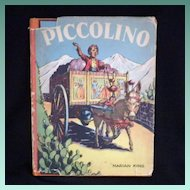 "Vintage Children's Book - ""Piccolino"""