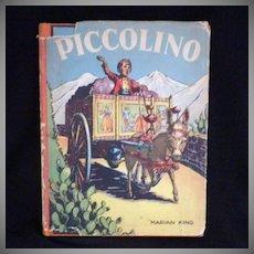 """Vintage Children's Book - """"Piccolino"""""""