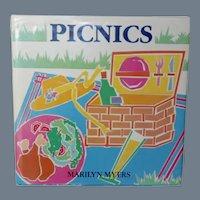 """SUMMER SALE Vintage Cookbook - """"Picnics"""" 1988 First Edition"""