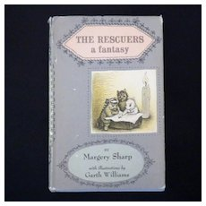 "Vintage Book - ""The Rescuers a fantasy"""