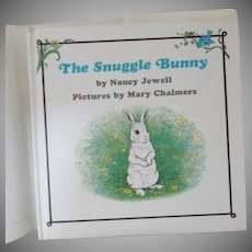 "Vintage Hardbound Children's Book - ""The Snuggle Bunny"""