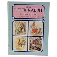 Vintage Children's Book - Tales of Peter Rabbit