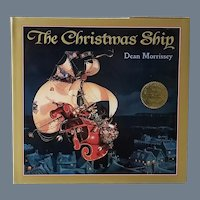 """Scarce Vintage First Edition Children's Book - """"The Christmas Ship"""""""