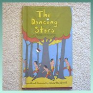 "Vintage Hardbound Book - ""The Dancing Stars, An Iroquois Legend"""