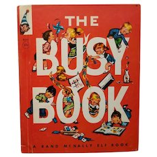 "Vintage Children's Book - ""The Busy Book"""