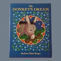 "Vintage Children's Book - ""The Donkey's Dream"""