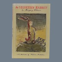 """Vintage Childrens Book - """"The Velveteen Rabbit"""" or """"How Toys Become Real"""""""