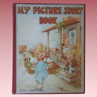 "Vintage Children's Hardbound Book - ""My Picture Story Book"""