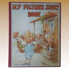 """Vintage Children's Hardbound Book - """"My Picture Story Book"""""""