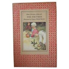 """Vintage Hardbound Book - """"The Fir Tree"""""""