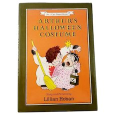 "Vintage Children's Book First Edition - ""Arthur's Halloween Costume"""