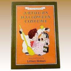 "Vintage Children's Book First Edition - ""Arthur's Halloween Costume"""