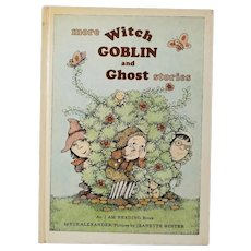 "Vintage Hardbound First Edition Children's Book - ""More Witch Goblin and Ghost Stories"""