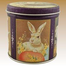 Vintage Bristol Ware Decorative Easter Tin