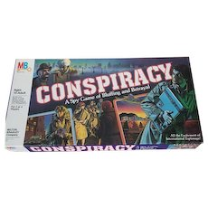 Vintage Conspiracy Board Game
