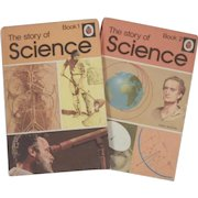 Hard to Find Vintage Ladybird Books - The Story of Science, Book 1 and 2