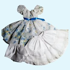 """Home Sewn One-of-a-Kind Outfit for 18-20"""" Miss Revlon or Cissy Doll"""