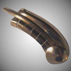 Vintage Signed Napier Sterling Silver Halley's Comet Brooch