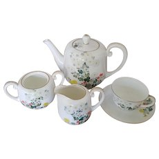 Vintage Noritake Tea Set - Six Pieces