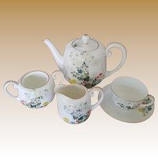 Vintage Noritake Tea Set - Six Pieces