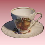 Vintage Cup & Saucer Set by Old Nuremberg