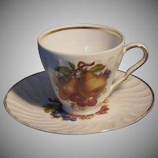 Vintage Cup & Saucer Set by Old Nuremberg