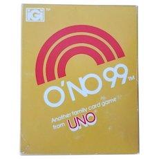 Vintage O'NO 99 Game