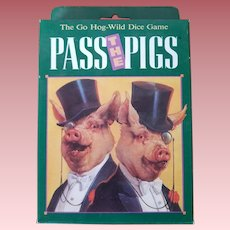 "Vintage Unopened ""Pass the Pigs"" Card Game"