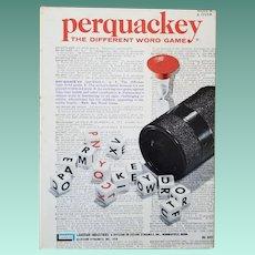 Vintage Perquacky Game