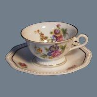 Vintage Rosenthal Demitasse Cup and Saucer Set