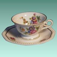 Vintage Rosenthal Demitasse Cup & Saucer Set