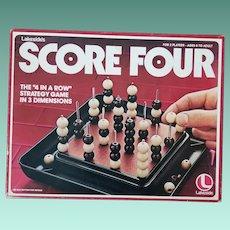 Vintage Game - Score Four
