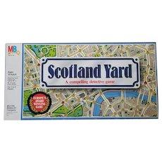 Vintage Scotland Yard Board Game