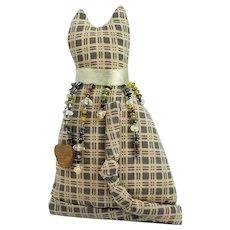 Vintage Soft Sculpture Cloth Cat