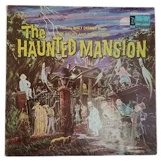 "Vintage Walt Disney Studio ""The Haunted Mansion"" Storybook Record"