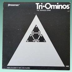 Vintage Tri-Ominos Game