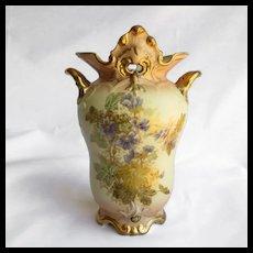 Magnificent Antique Austrian Porcelain Vase