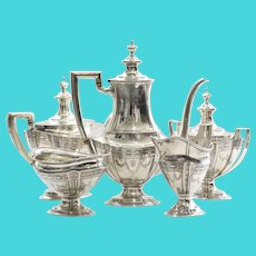 Art Deco Tiffany & Co. Sterling Tea Service