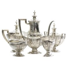 Art Deco Tiffany & Co. Sterling Tea Service